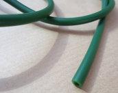 1mt - CORDONE CORDINO FILO caucciu - verde scuro mm 4