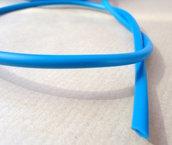 1mt - CORDONE CORDINO FILO caucciu - azzurro mm 4