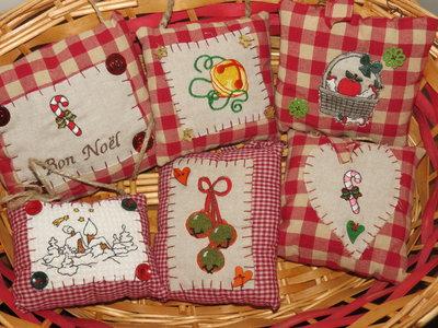 Pillows da maniglia, 3+1 in regalo. Prima parte.