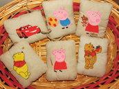 Pillows da maniglia, 3+1 in regalo.  Seconda parte.