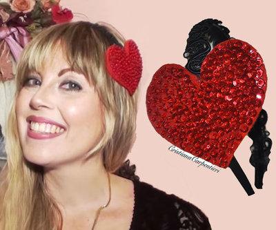 cerchietto RED HEART