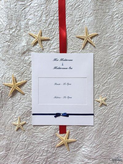 Cartoncini per tableau tema marinaro