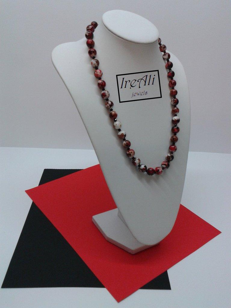 Collana Rossa&Nera Collezione Carrara