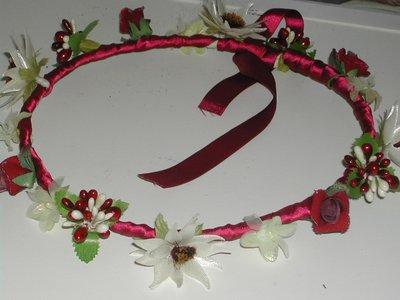coroncine di fiori