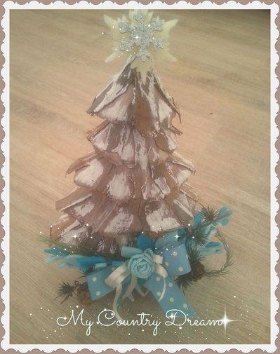 Albero di Natale Shabby