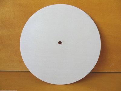 5 Base Orologio in legno di pioppo per il fai da te , decoupage