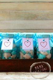 Vasetti dolci di marshmallows
