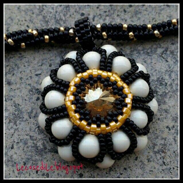 Ciondolo Margherita  con perle