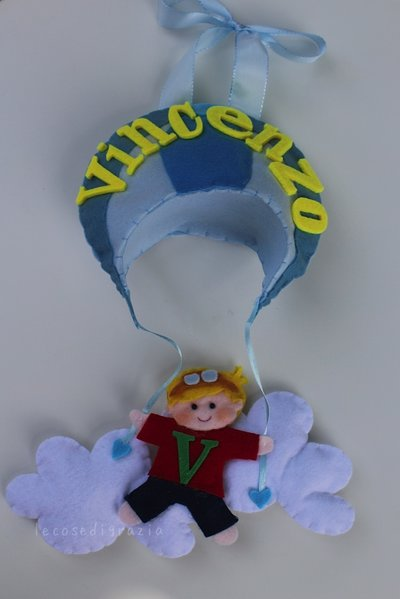 Fiocco nascita paracadutista