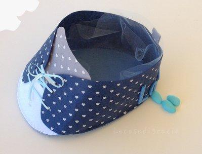 Porta confetti scarpina bimbo