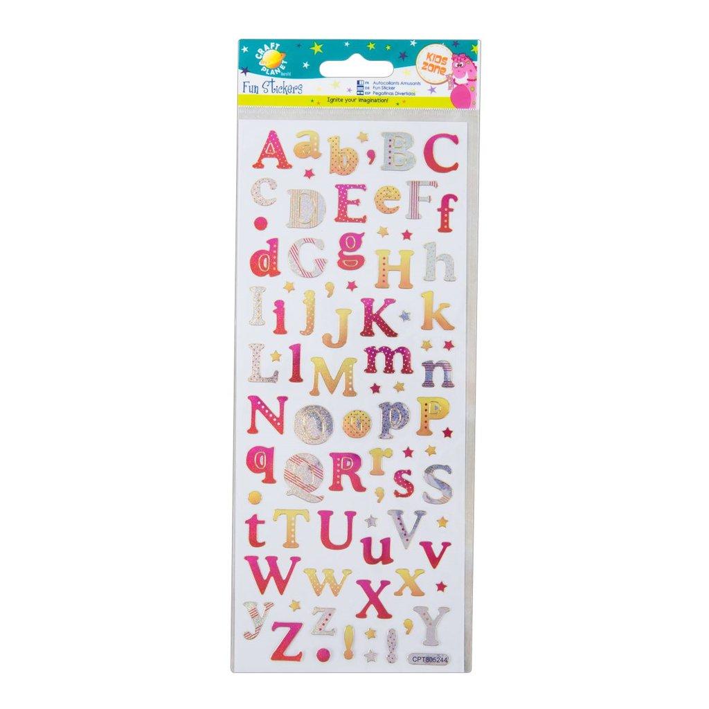 Fun Stickers - Alphabet