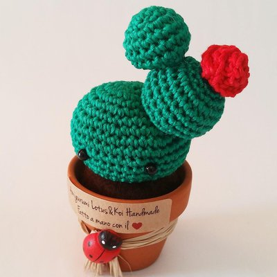 Cactus Kawaii Amigurumi