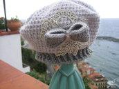 cappellino basco in lana