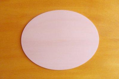 5 Base ovale in legno di pioppo per il fai da te o decoupage