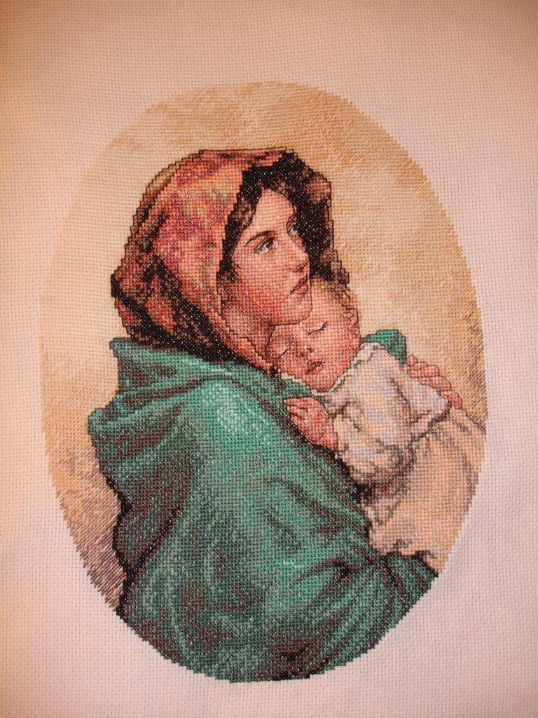 Madonna del riposo o Madonna con bambino