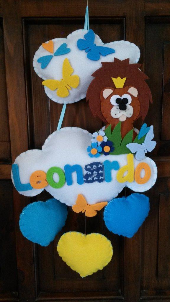 """Leoncino """"sulle nuvole"""""""