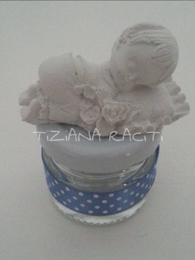 bomboniera nascita utile artigianale bimbo bimba 2018