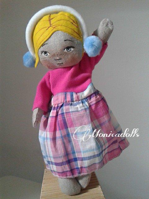 Bambola di stoffa Susanna