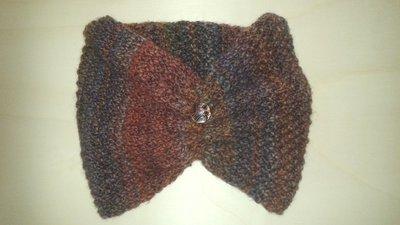 Copricollo melange in pura lana