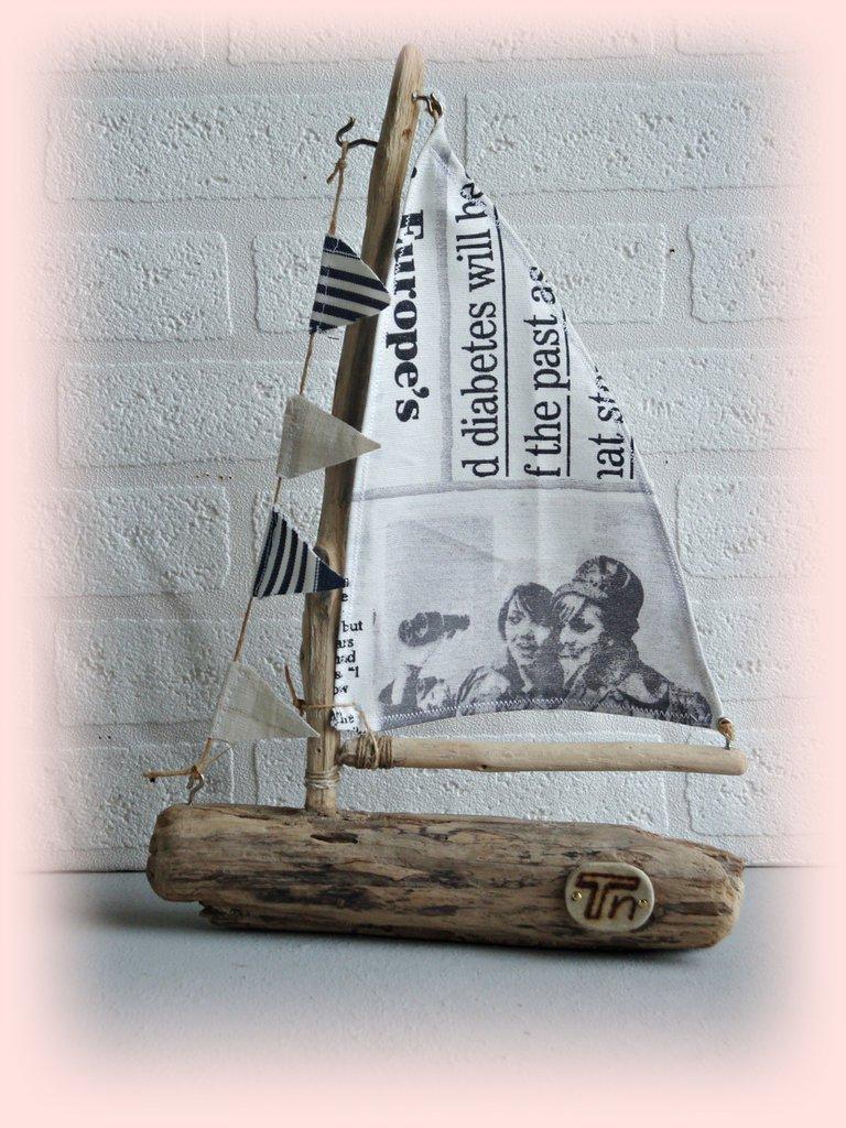 LE BATEAU con legni di mare - Per la casa e per te - Decorare casa ...  su M...