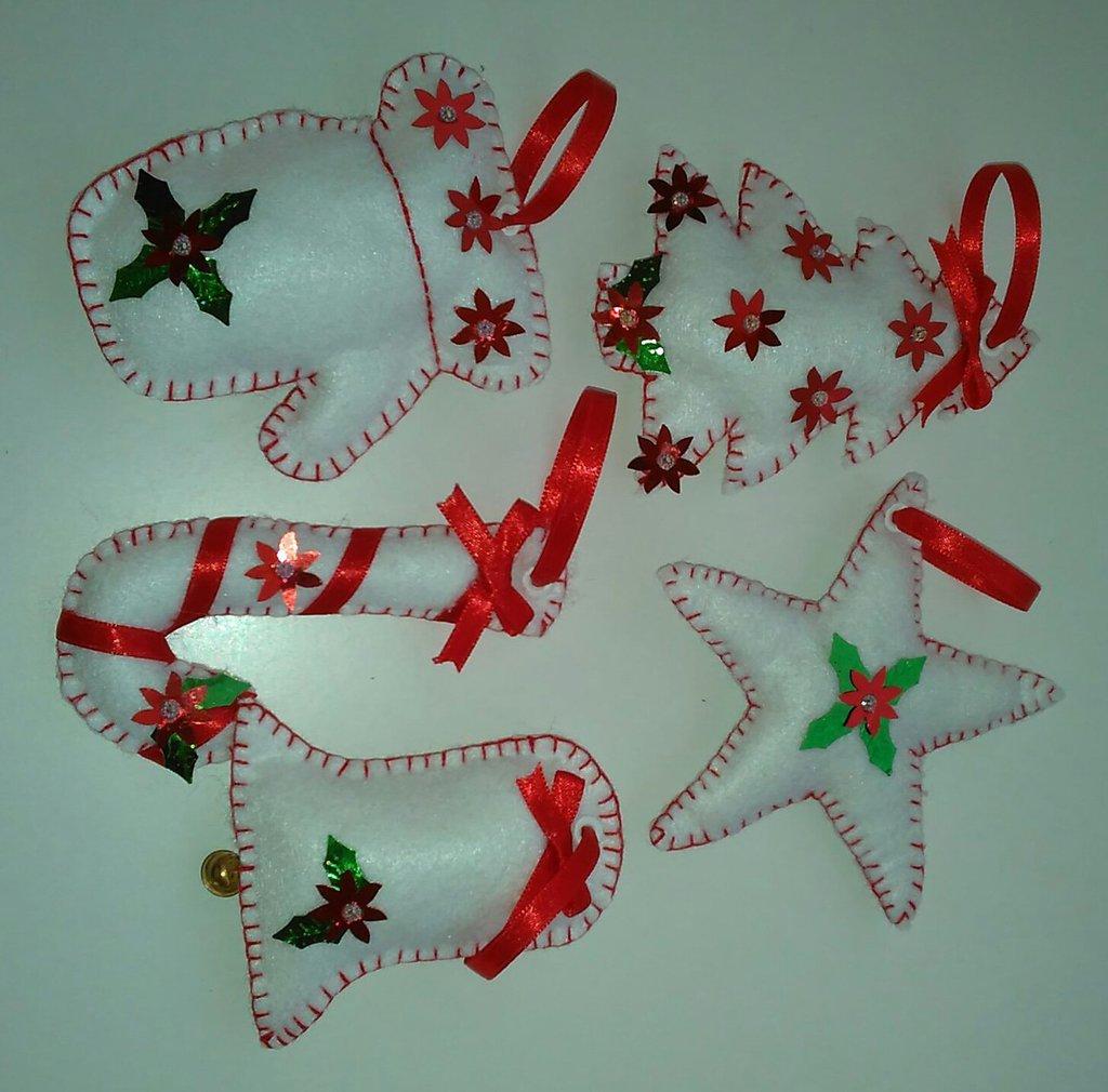 Bien connu Addobbi natalizi in pannolenci fatte a mano - Feste - Natale - di  OA51