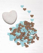 Coriandoli di carta a forma di cuore