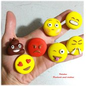 Emoticon smile faccina whatsapp- magnete