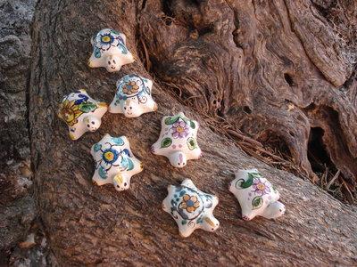 Tartarughe mignon in ceramica