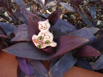 Gattino in ceramica