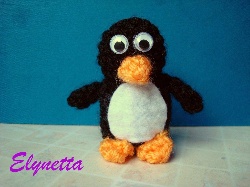 Pinguino amigurumi