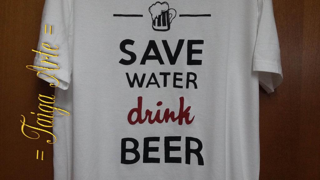 maglietta drink beer