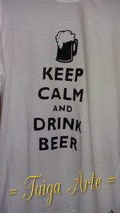 Maglietta keep calm... beer