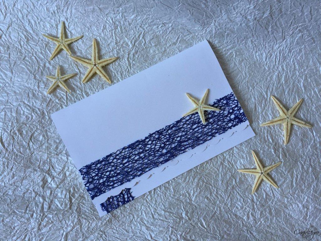 Partecipazione tema mare con stella marina