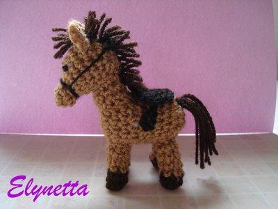 Cavallino amigurumi