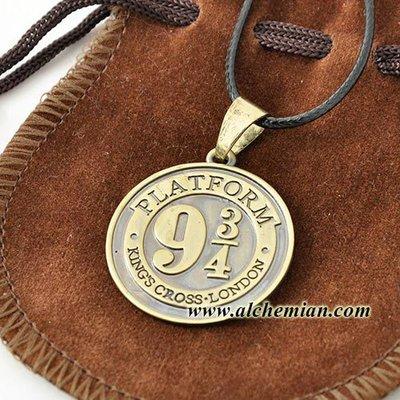 Harry Potter medaglione con moneta della Gringott's Bank - Banca dei maghi