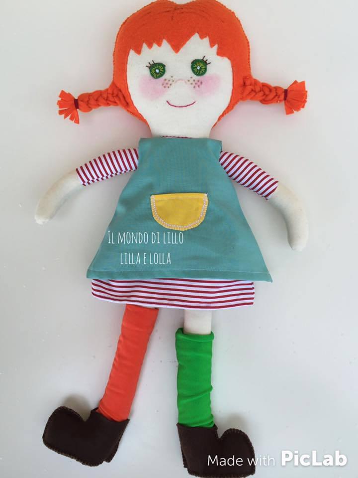 pippi calzelunghe bambola