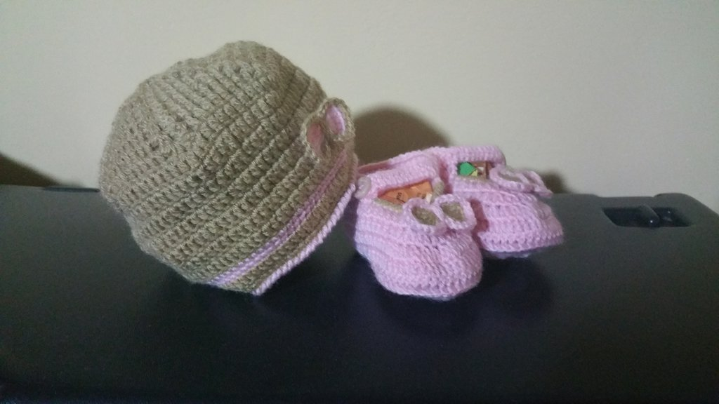 scarpine e cappellino