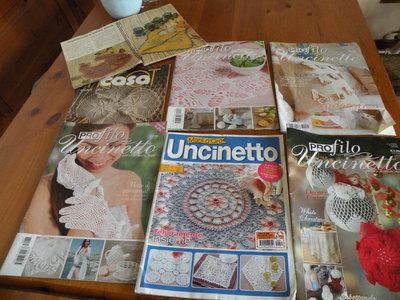 riviste donna uncinetto