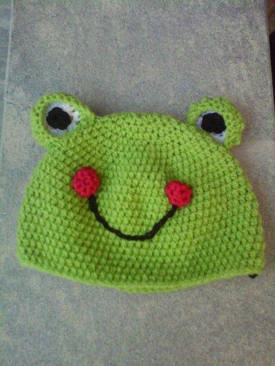 Cappello a forma di rana