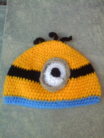 Cappello a forma di minion