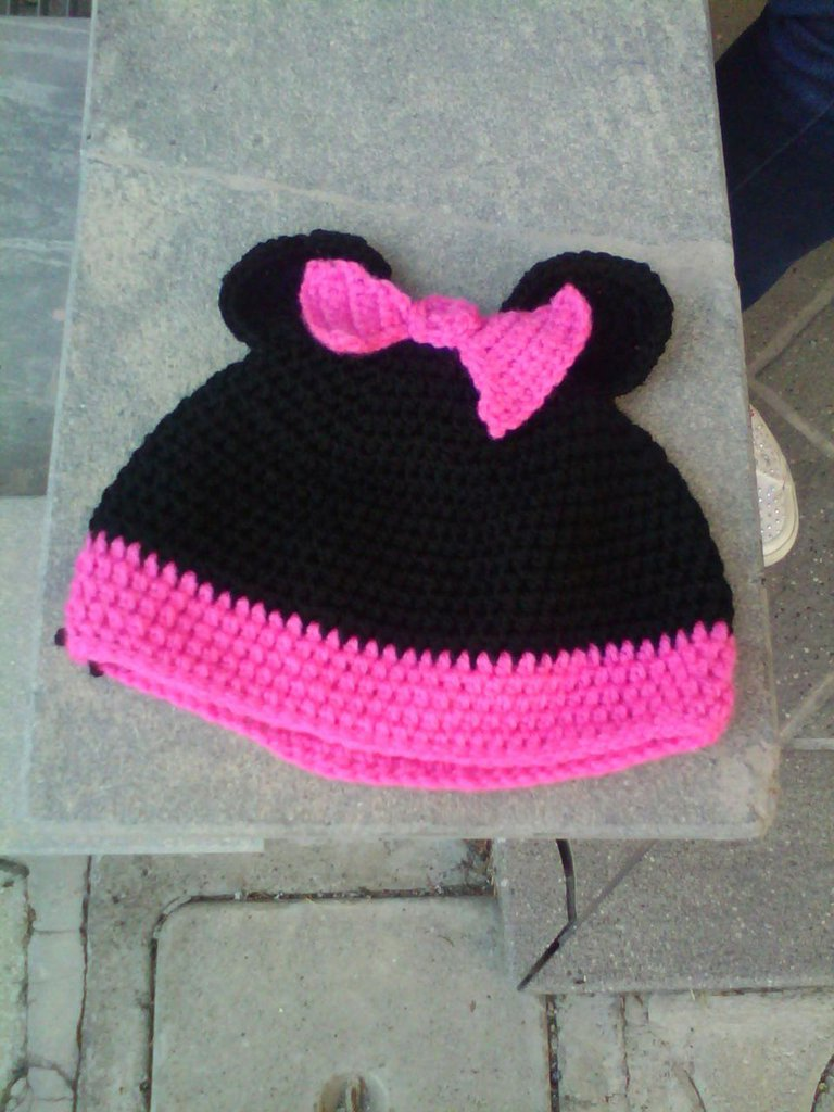Cappello a forma di minnie
