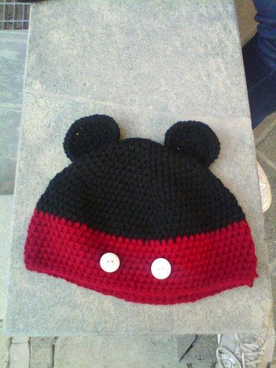 Cappello a forma di Topolino