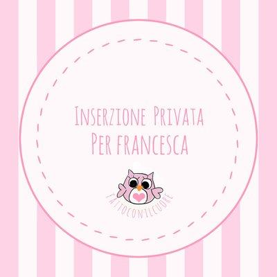 Inserzione per Francesca: GUFETTI PORTACHIAVI
