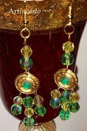 Verde Vintage - HM121 - orecchini
