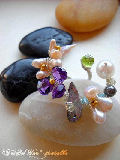 Amelie Eccentric Flower Bouquet - Spedizioni Gratuite/Free shipping con Raccomandata *
