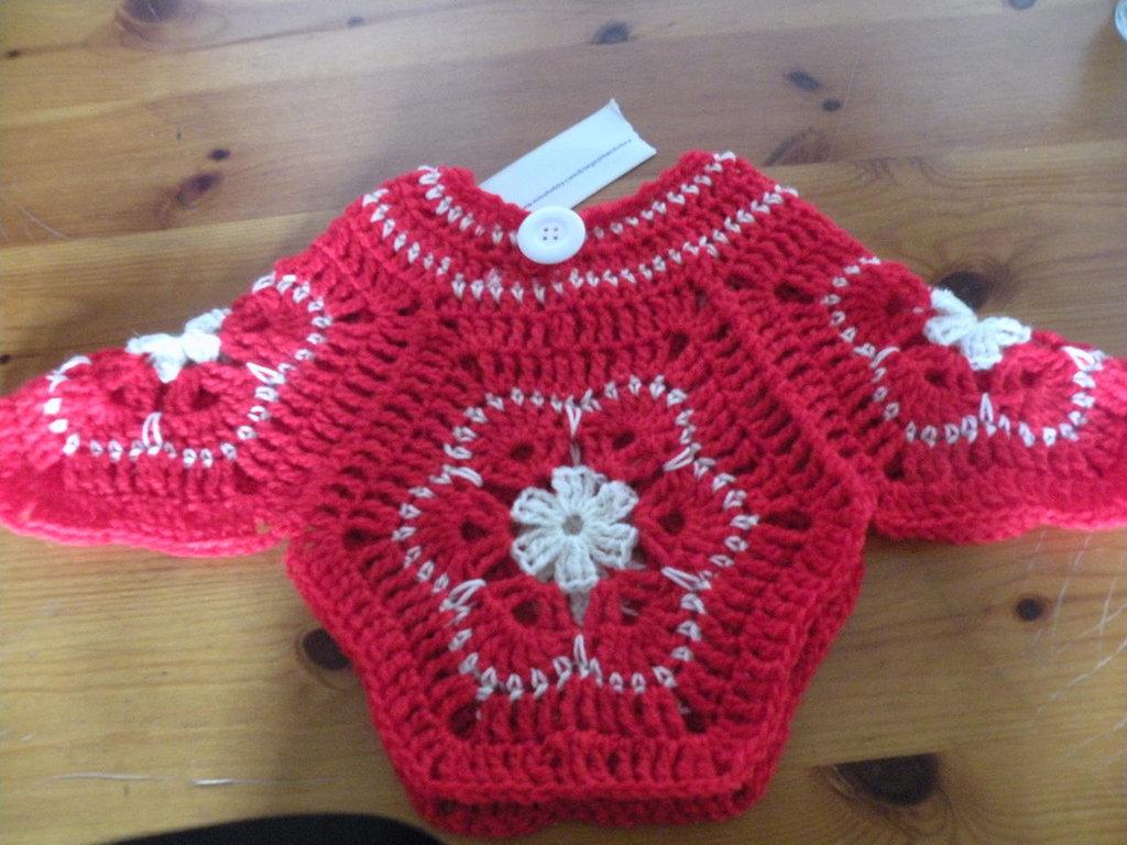 maglione poncho bambina
