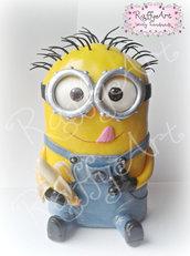 """Cake topper compleanno/festa bambini """"Bananauguri!!!"""" (personalizzabile)"""