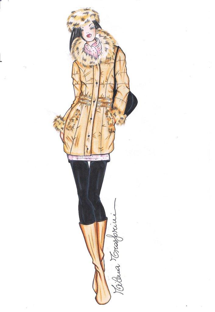 Disegno fashion figurino di moda per la casa e per te for Disegni di casa alla moda
