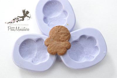 Stampo fimo gingerbread biscotto- 25mm Orecchini fimo gioielli handmade-Natale,bianco natale- Gioielli Fimo- Kawaii ST230