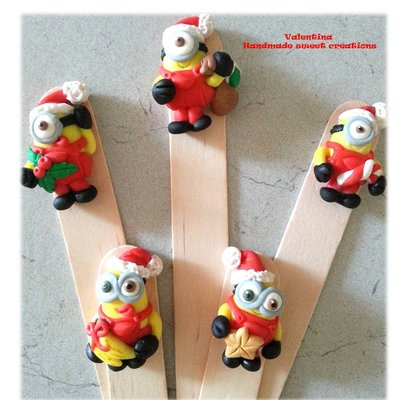 Segnalibro idea regalo Natale Minions